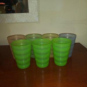 7 Impression cups - Tupperware